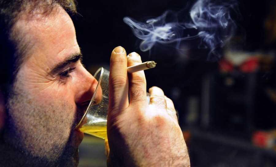 Табак и сперма извиняюсь
